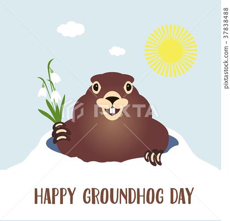 groundhogs day-土撥鼠之日 groundhog-groundhog-groundhogday怎么讀-groundhogday 節日