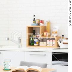 Kitchen Desk Island Design 厨房桌子桌 图库照片 40521194 Pixta 厨房桌子桌40521194