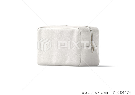 Download 8400+ royalty free toiletry vector images. Blank Canvas Cosmetic Bag Mock Up Half Turned Stock Illustration 71084476 Pixta