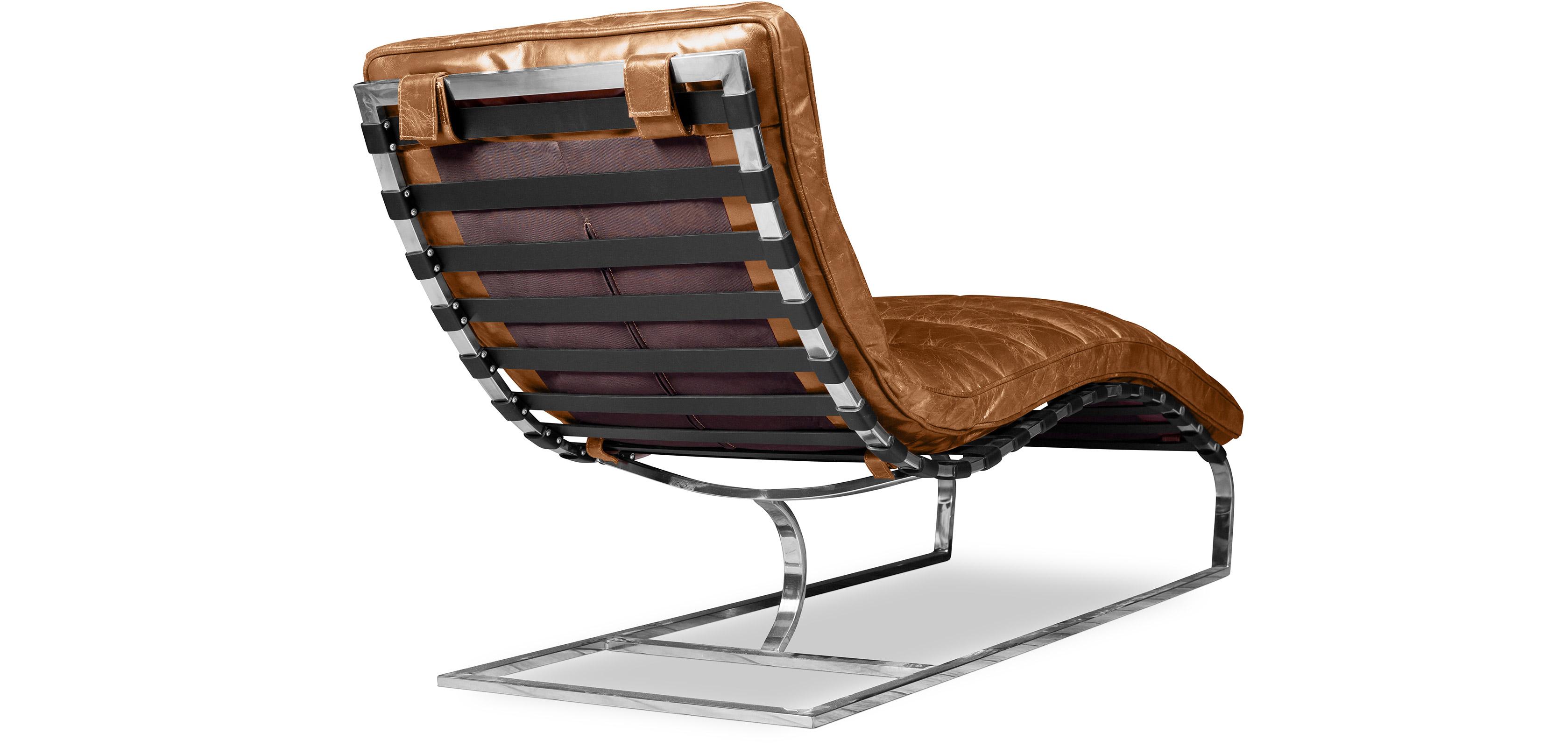 Vintage Lounge Chair  Premium Leather