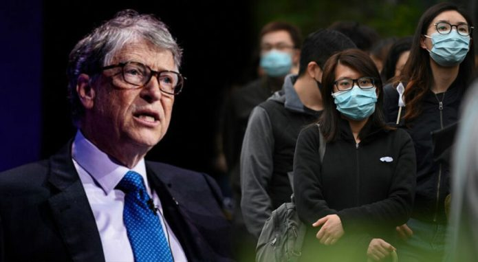 How many millions of dollars that Bill Gates donating to fight the great global health crisis Corona?