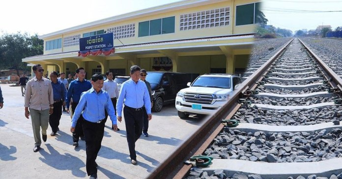 Cambodia To Link Railroad with Thailand to Increase Trade Volume and Facilitate Travel and Transportation
