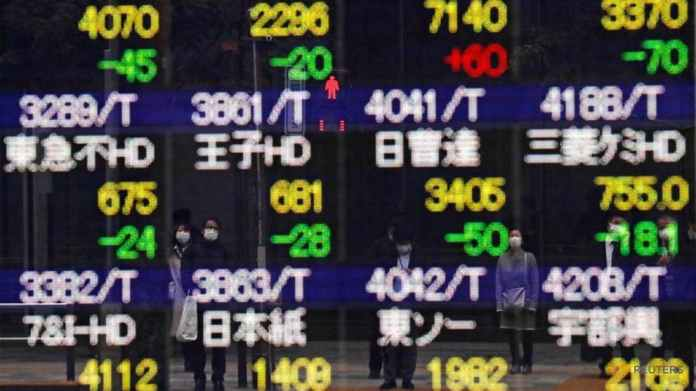 Asian stocks recover on firmer futures, retreat in US yields