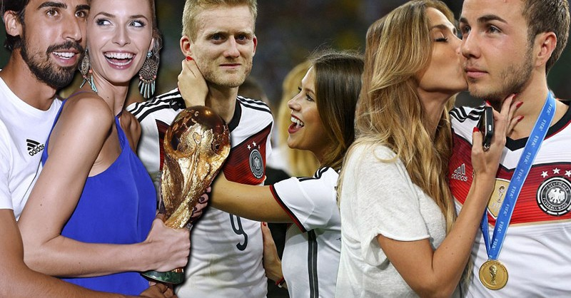 The German boys come home to World Cup fever