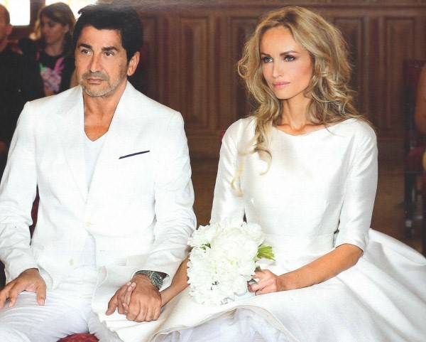 Adriana Sklenarikova tied the knot with Armenian businessman Aram