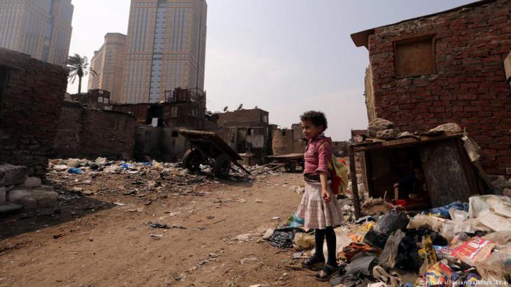 Slum in Ramlet Bulaq, Cairo (photo: Reuters)