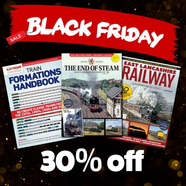 Black Friday railway bookazines