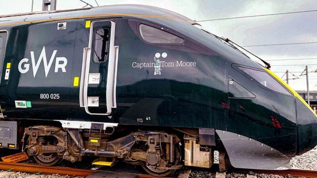 Captain Tom Moore train