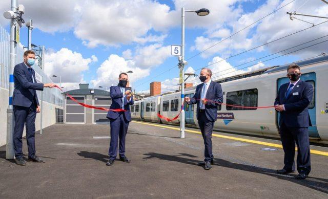 Stevenage platform opening