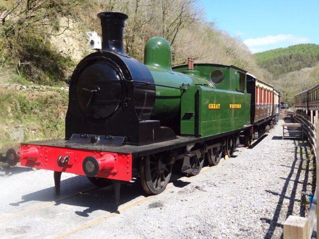 Taff Vale Railway No.28 at Gwili Railway