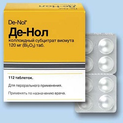 De-Nol - instructions for use indications doses