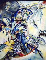Wassily Kandinsky.  Blue ridge