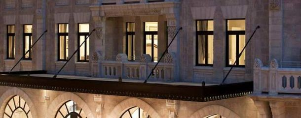 Welcome to the Waldorf Astoria Jerusalem!
