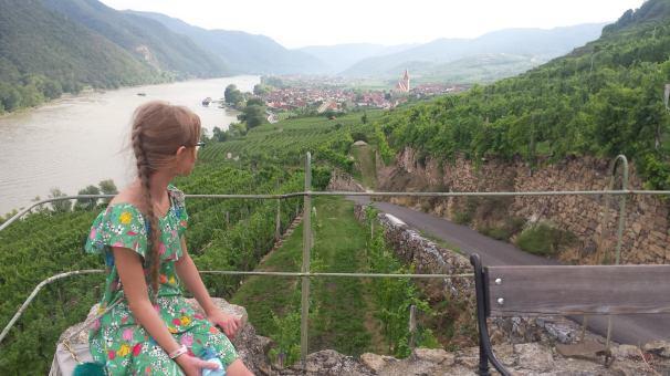 Shooting in the wine region Wachau