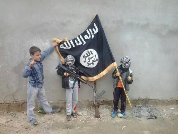 isis child soldiers iraq