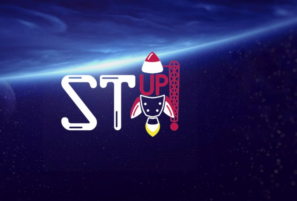 STup! startup competition logo