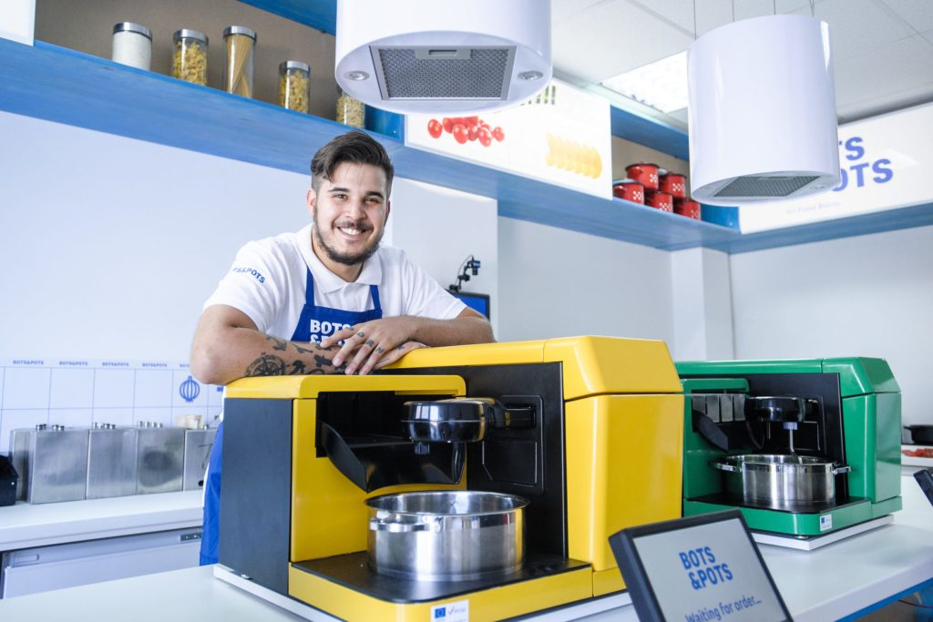Bots&Pots chef Vedran who teaches GammaChef robots how to cook