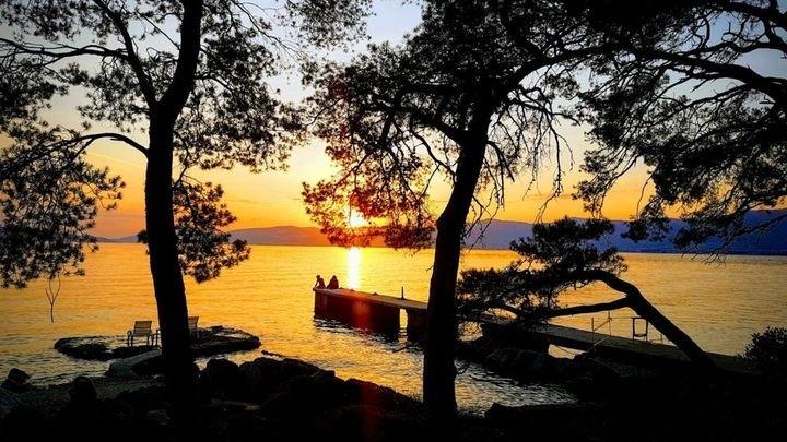Bene Bay at sunset