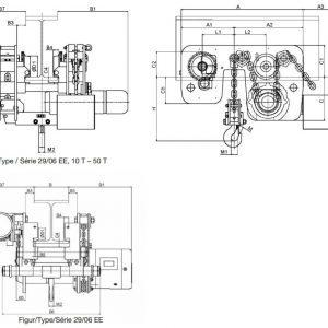 Electric chain hoist HADEF 29/06 EE