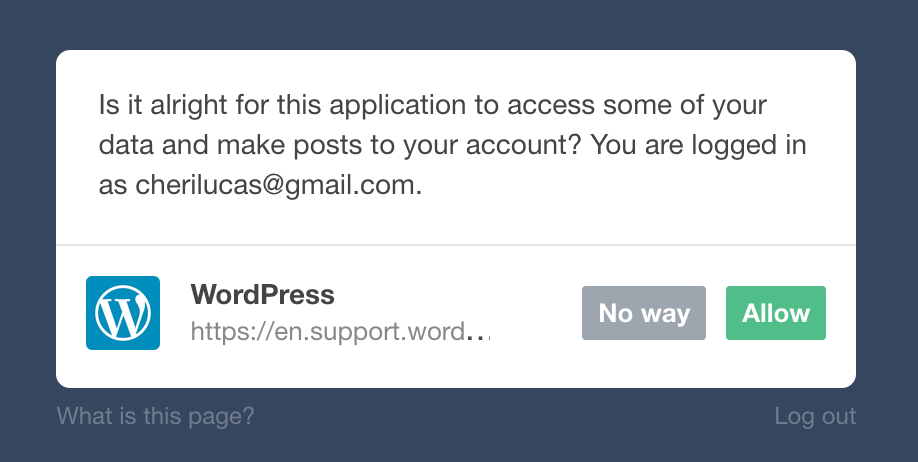 Allow Tumblr access