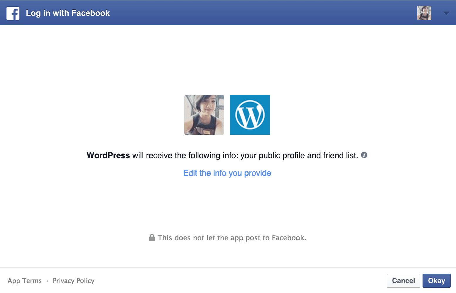 publicize support wordpress com info to facebook