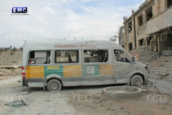 Russian and Assad regime jets and helicopters conducted no fewer than 50 airstrikes on the towns and villages of Idlib province