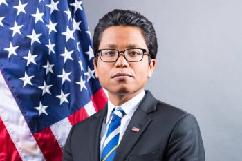 Nathan Tek, the US State Department's regional spokesman