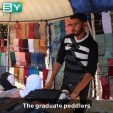 University graduates work as street peddlers in Idlib