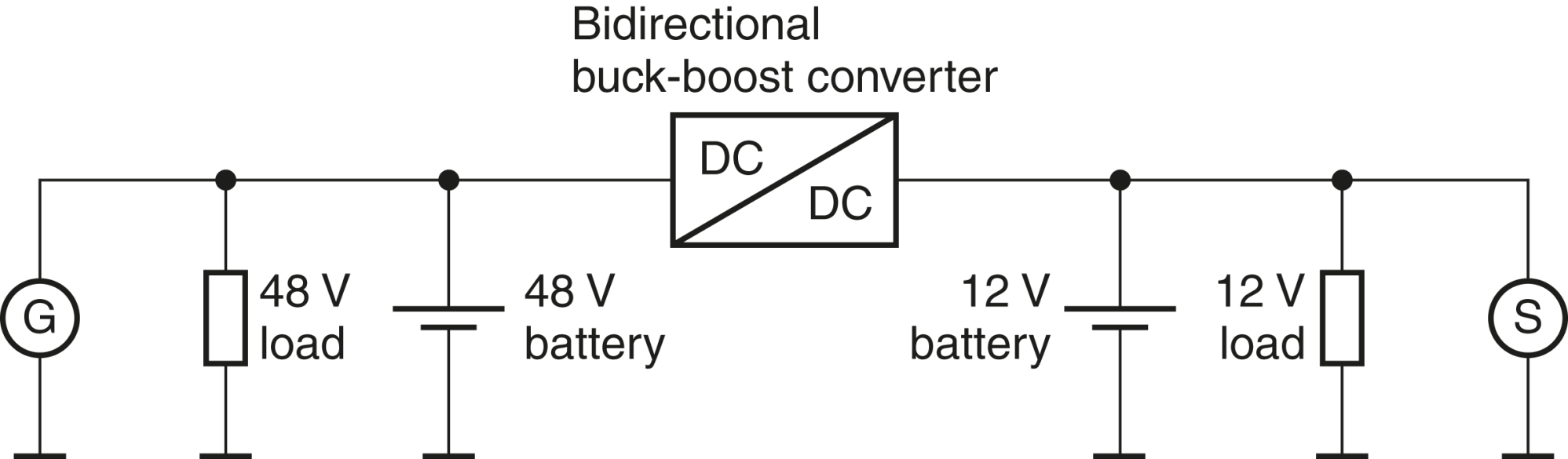 hight resolution of automotive electronics well equipped for 48 volts tdk europe epcos 1998 1999 club car 48 volt diagram 48 volt battery diagram industrial