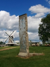 "<h5>Thanks Mennonite Heritage Village</h5><p>© Piece of the Berlin Wall, located at <a href=""http://www.mennoniteheritagevillage.com/"" target=""_blank"">Mennonite Heritage Village in Steinbach, Manitoba Canada</a></p>"