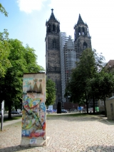 "<h5>The Berlin Wall in Magdeburg</h5><p>Details, Copyright:  <a href=""http://en.the-wall-net.org/?p=1510"">Magdeburg, Saxony-Anhalt</a> / more <a href=""http://en.the-wall-net.org/category/the-berlin-wall/d/"" >sites in Germany</a></p>"
