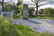 """<h5>The Berlin Wall in Osterode</h5><p>Details, Copyright:  <a href=""""http://en.the-wall-net.org/?p=1534"""">Osterode, Lower Saxony</a> / more <a href=""""http://en.the-wall-net.org/category/the-berlin-wall/d/"""" >sites in Germany</a></p>"""