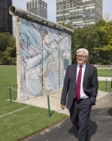 "<h5>Thanks Thomas Imo</h5><p>Frank-Walter Steinmeier, German Minister of Foreign Affairs, at UN's Rose Garden. Courtesy by © Thomas Imo/<a href=""http://photothek.net"" target=""_blank"" >photothek.net</a></p>"