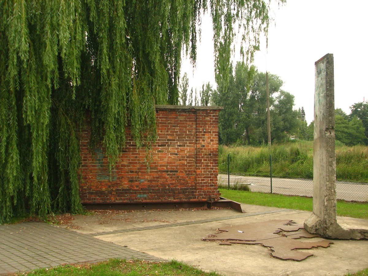The Berlin Wall in Gdansk, Poland