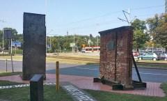 Berlin Wall in Gdansk, Poland