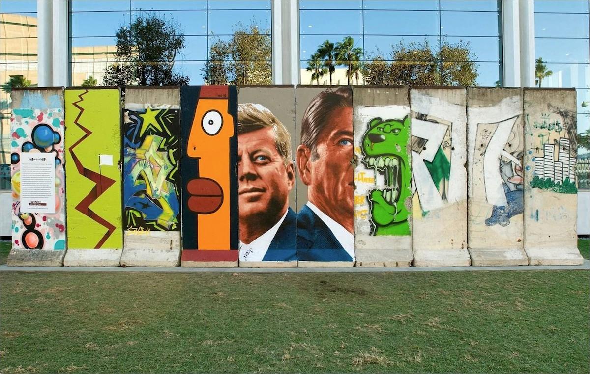 The Berlin Wall in Los Angeles