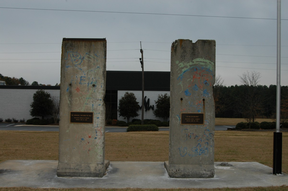 The Berlin Wall in Spartanburg, South Carolina