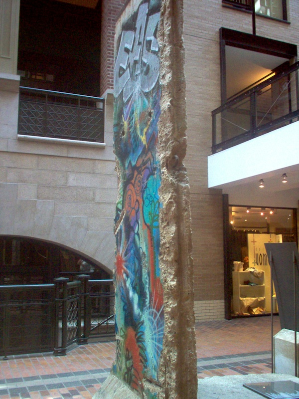 Berlin Wall in Montreal