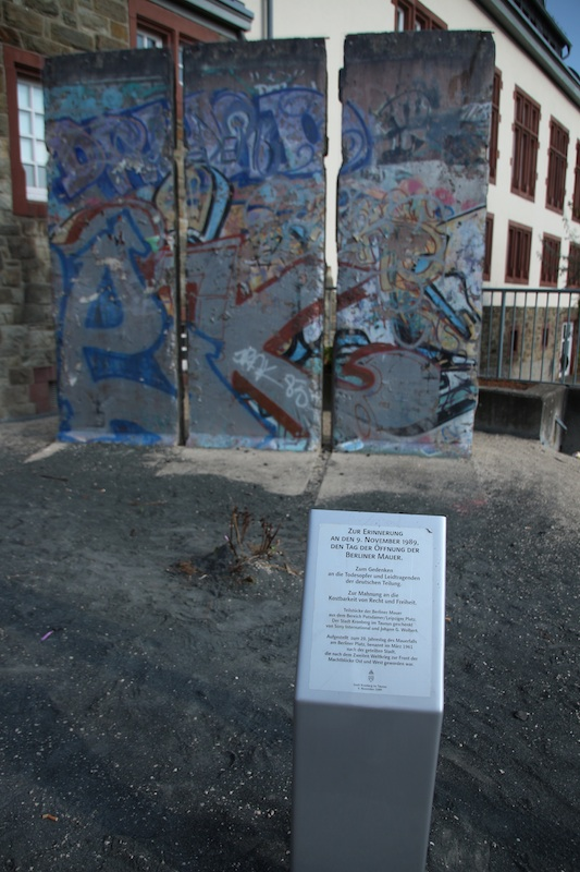 Berlin Wall in Kronberg