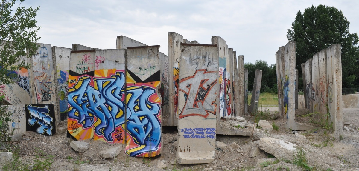 Berlin Wall in Teltow