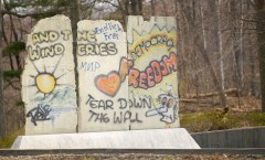 Berlin Wall in Langley