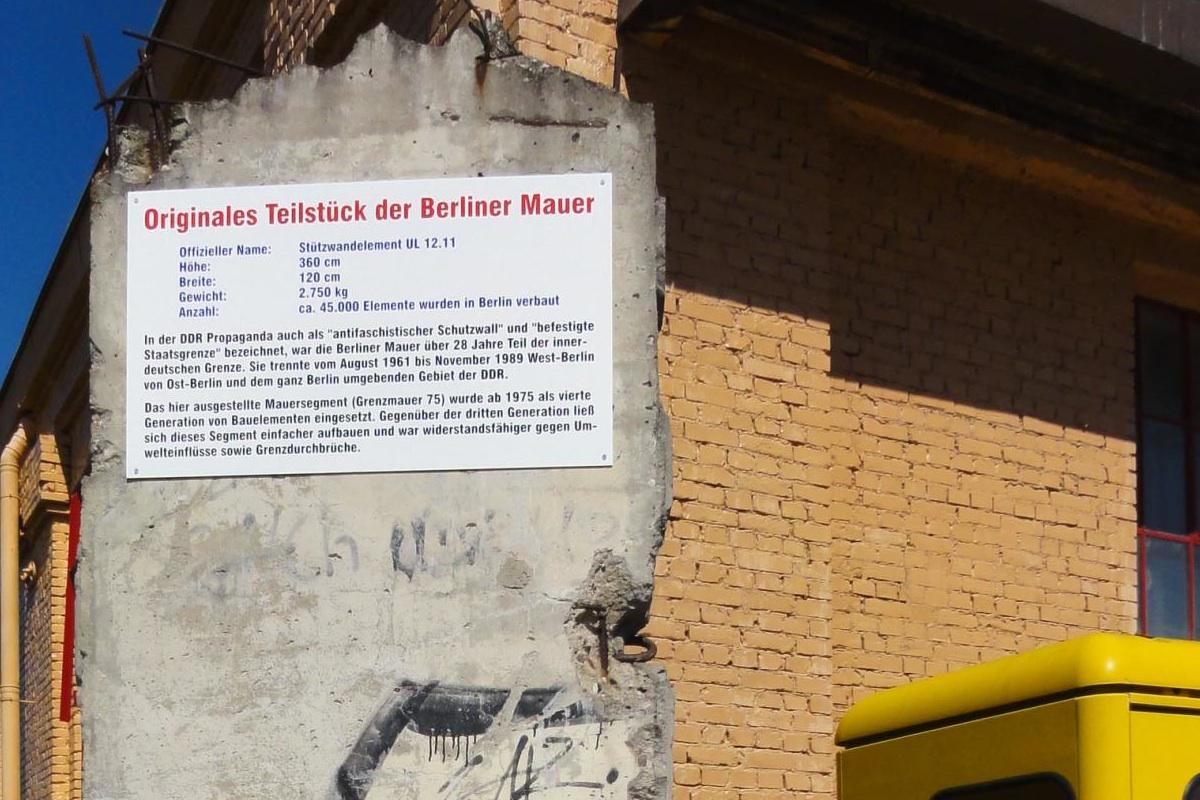 Berlin Wall in Speyer