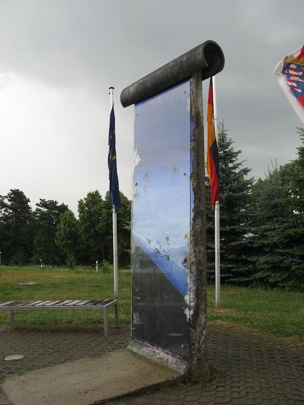 Berlin Wall in Point Alpha