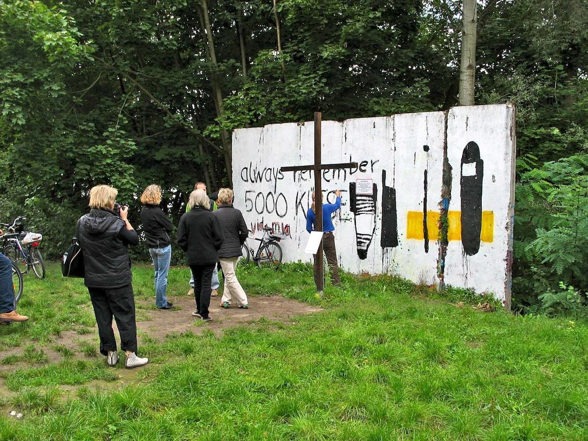 Berlin Wall in Babelsberg