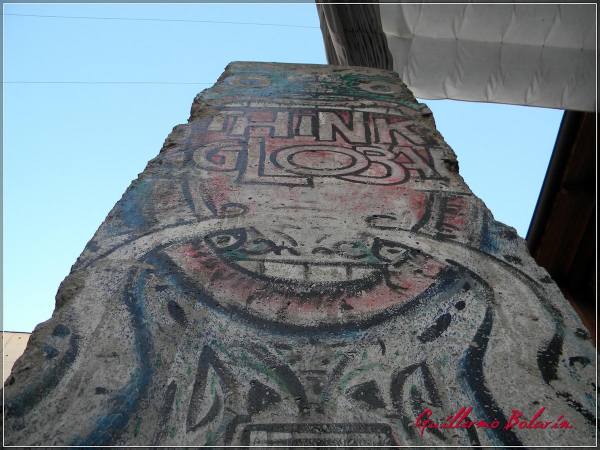 Berlin Wall in Santiago de Chile