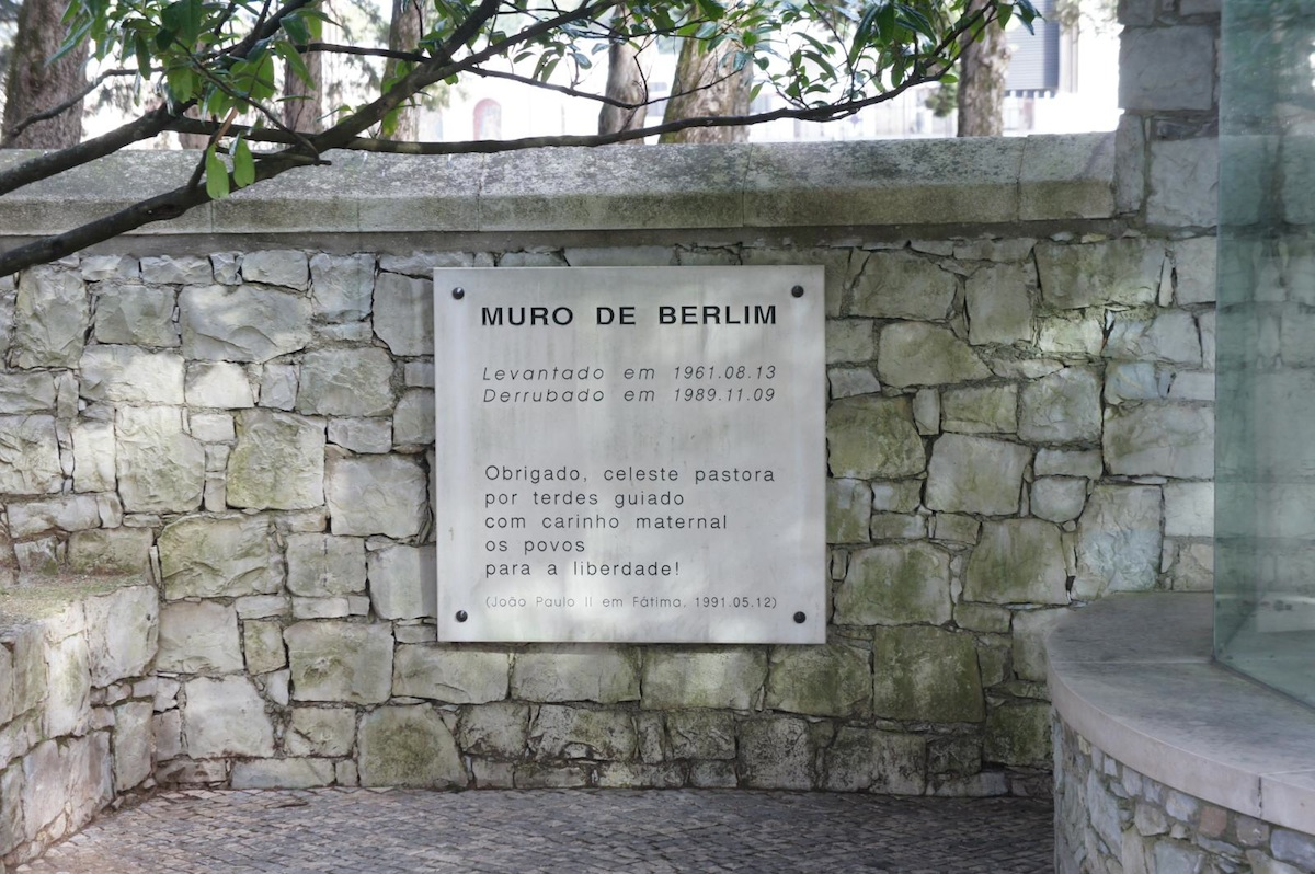 Berlin Wall in Fatima