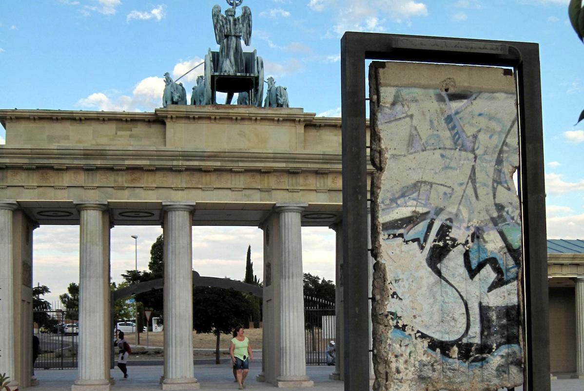 Berlin Wall in Torrejon de Ardoz