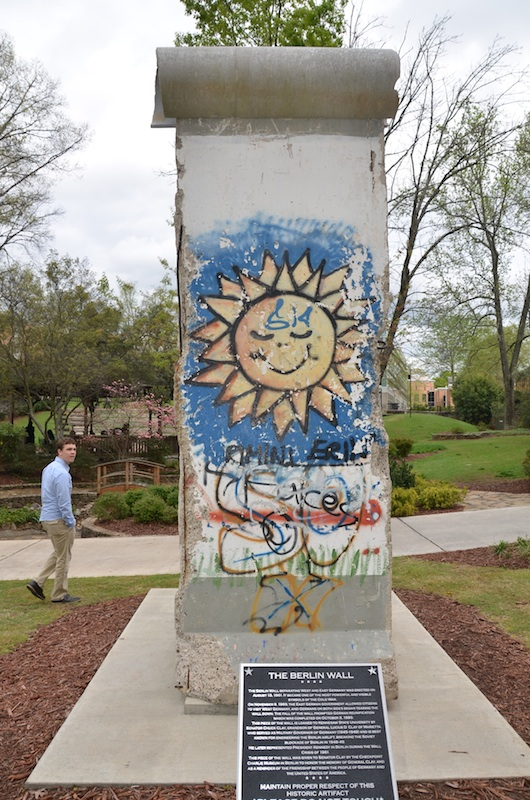 Berlin Wall in Kennesaw