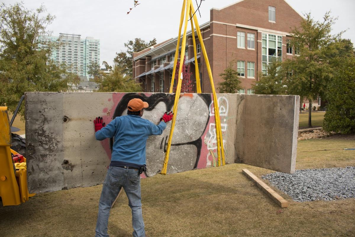 Berlin Wall in Atlanta