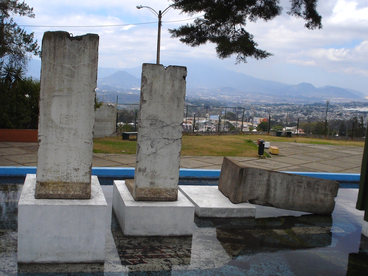 Berlin Wall in Guatemala